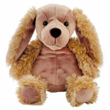Knuffel hondje met lavendel 10095260