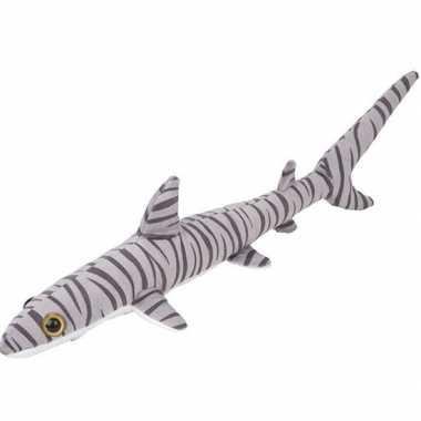 Knuffel tijgerhaai gestreept 60 cm knuffels kopen