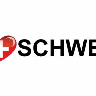 Koffer stickers i love schweiz