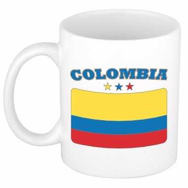Koffiemok vlag colombia 300 ml