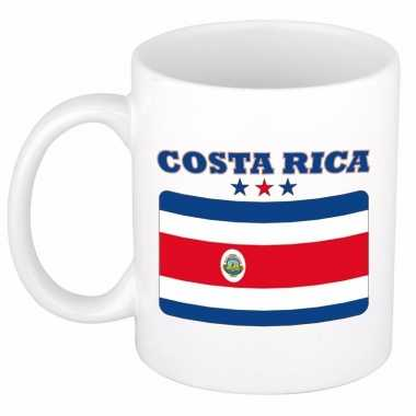 Koffiemok vlag costa rica 300 ml