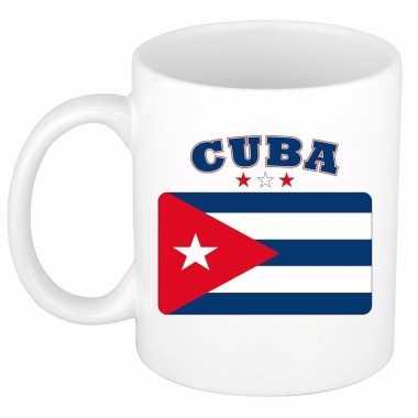Koffiemok vlag cuba 300 ml