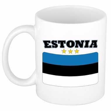 Koffiemok vlag estland 300 ml