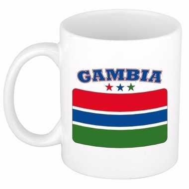 Koffiemok vlag gambia 300 ml
