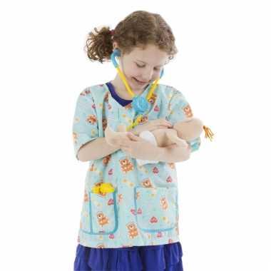 Kraamverzorger verkleedkleding voor meisjes