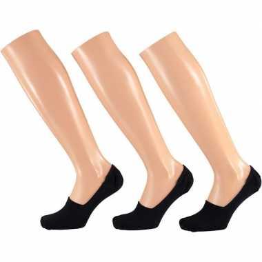 Lage sokken zwart voor dames