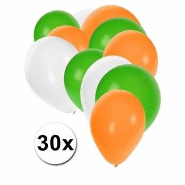 Landen decoratie ballonnen gwo