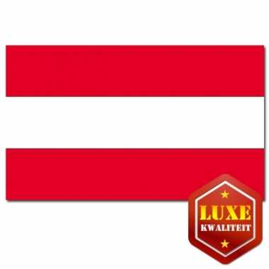 Landen versiering vlag oostenrijk