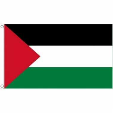Landenversiering palestina vlag 90 x 60 cm