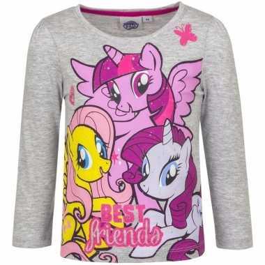 Lange mouwen shirt grijs my little pony