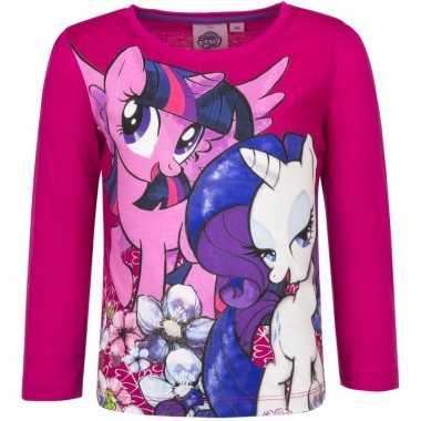 Lange mouwen shirt roze my little pony