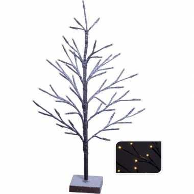 Led kunst kerstboom warm wit 51 led 50 cm