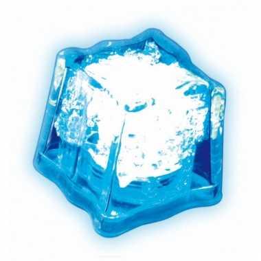 Led licht ijsklontje blauw