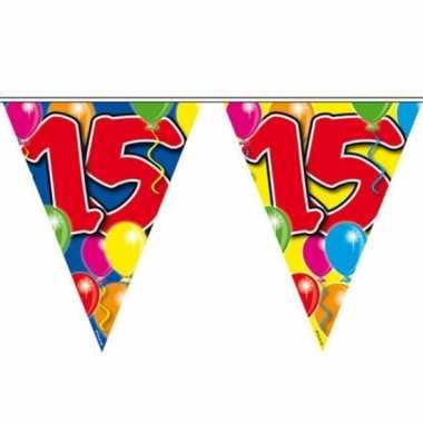 Leeftijd vlaggenlijnen 15 jaar
