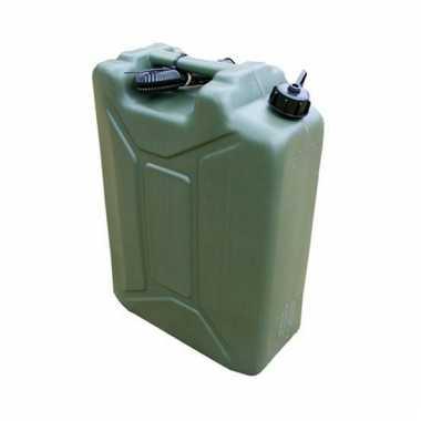 Legergroene water tank 20 liter