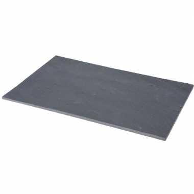 Leisteen snijplank 30 cm
