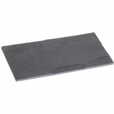 Leisteen tapas snijplank 18 cm