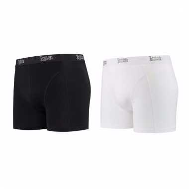 Lemon and soda mannen boxers 1x zwart 1x wit 2xl
