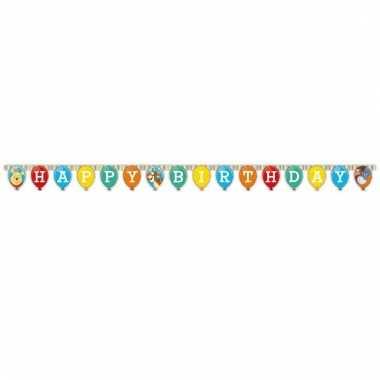 Letter slinger happy birthday van winnie de poeh