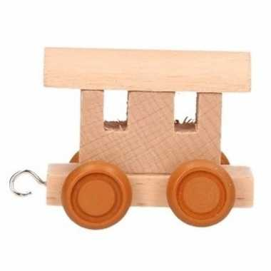 Lettertrein wagon