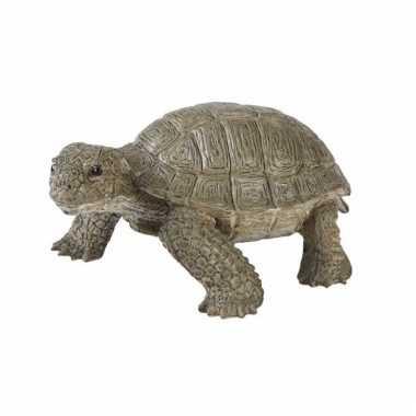 Levensechte speelgoed plastic schildpad 14 cm