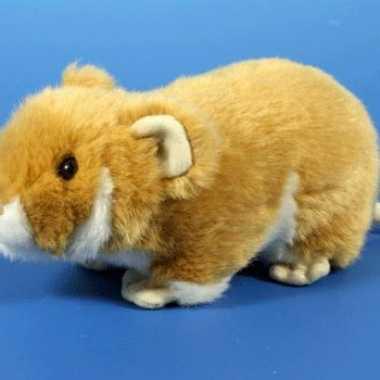Licht bruine hamster knuffeltje