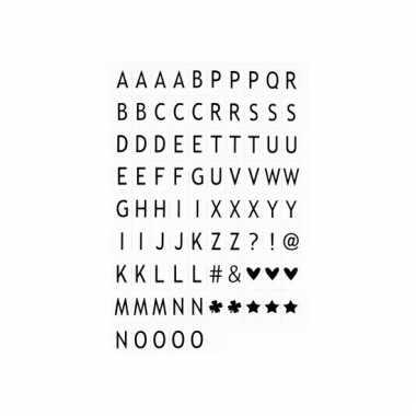 Lichtbak quote maken 80 lettertjes
