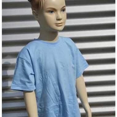 Lichtblauw t-shirt voor kinderen