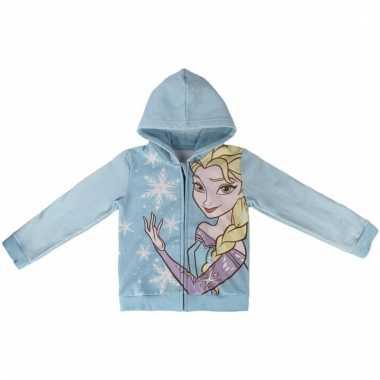 Lichtblauwe elsa frozen sweater