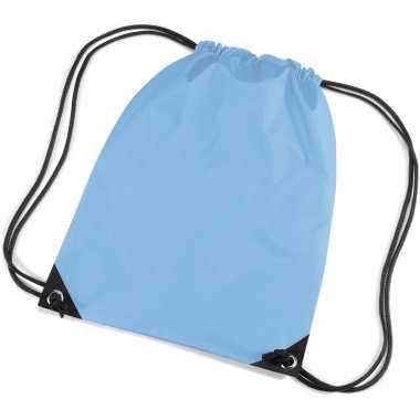 Lichtblauwe gymtas