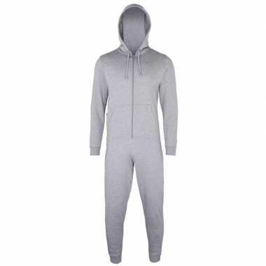 Lichtgrijze jumpsuit all-in-one voor dames