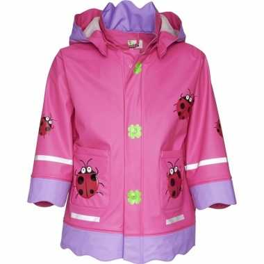 Lieveheersbeest regenjas voor meisjes