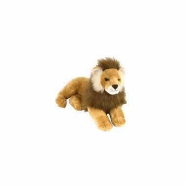 Liggende leeuwen knuffel 40 cm