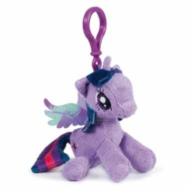 Lila my little pony sleutelhangertje 12 cm