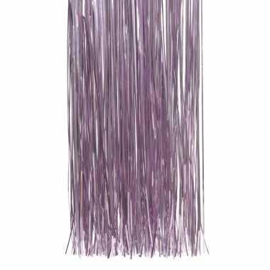 Lila paarse kerstversiering slinger