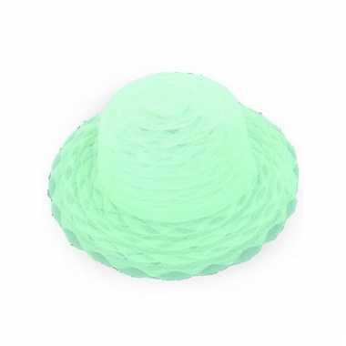 Lime groene hoedjes
