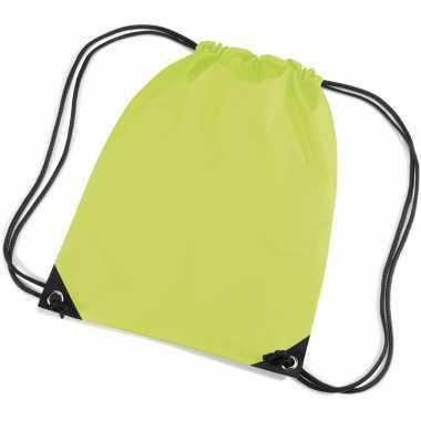 Lime groene tasjes voor kinderen