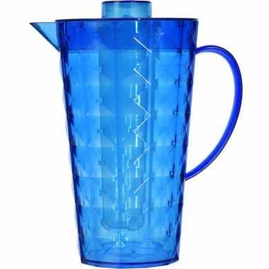 Limonade kan met koel element blauw