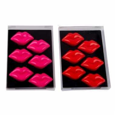 Lipvormige magnetron magneetjes