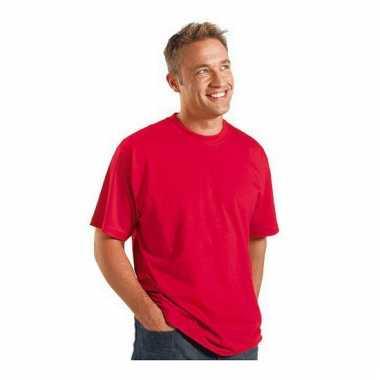 Logostar shirt korte mouw rood 3xl