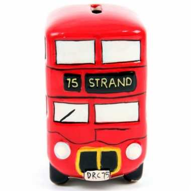 London bus spaarpot keramiek