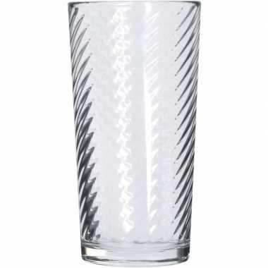 Longdrink glas 6x stuks 230 ml