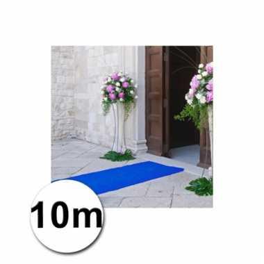 Loper in de kleur blauwe 1 bij 10 meter