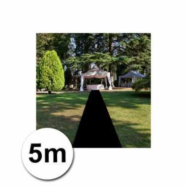 Loper in de kleur zwarte 1 bij 5 meter