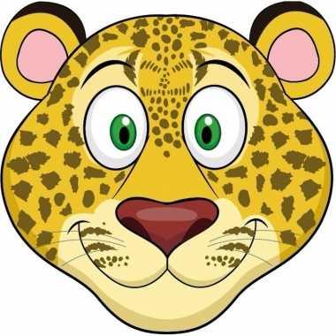 Luipaard maskers knutselen pakket