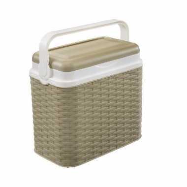 Lunch koelbox beige 10 liter