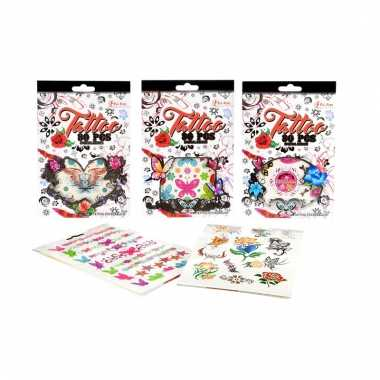 Mega set sticker tattoos type sierlijk 10095585