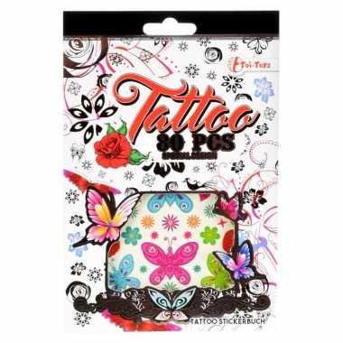 Mega set sticker tattoos voor meisjes
