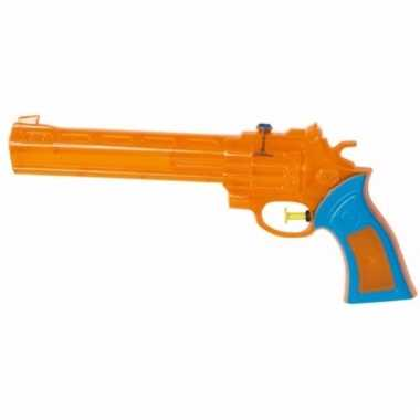Mega western waterpistool oranje 28 cm