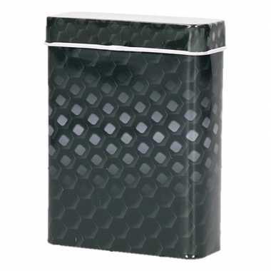 Metalen peukenblikje zwart/grijs